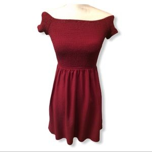Mossimo Supply Co. Off the Shoulder Dress XS